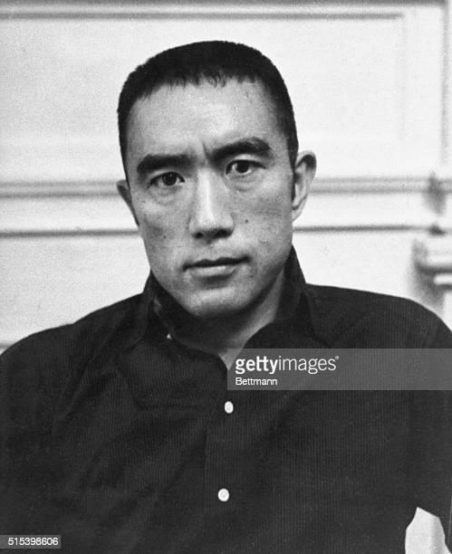 Japanese novelist and playwright Yukio Mishima.