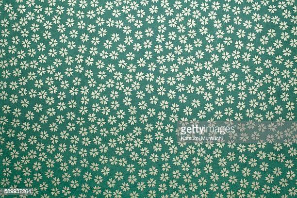 Japanese paper cherry pattern