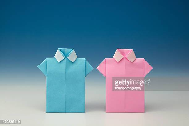 Japanese Paper Origami Shirts