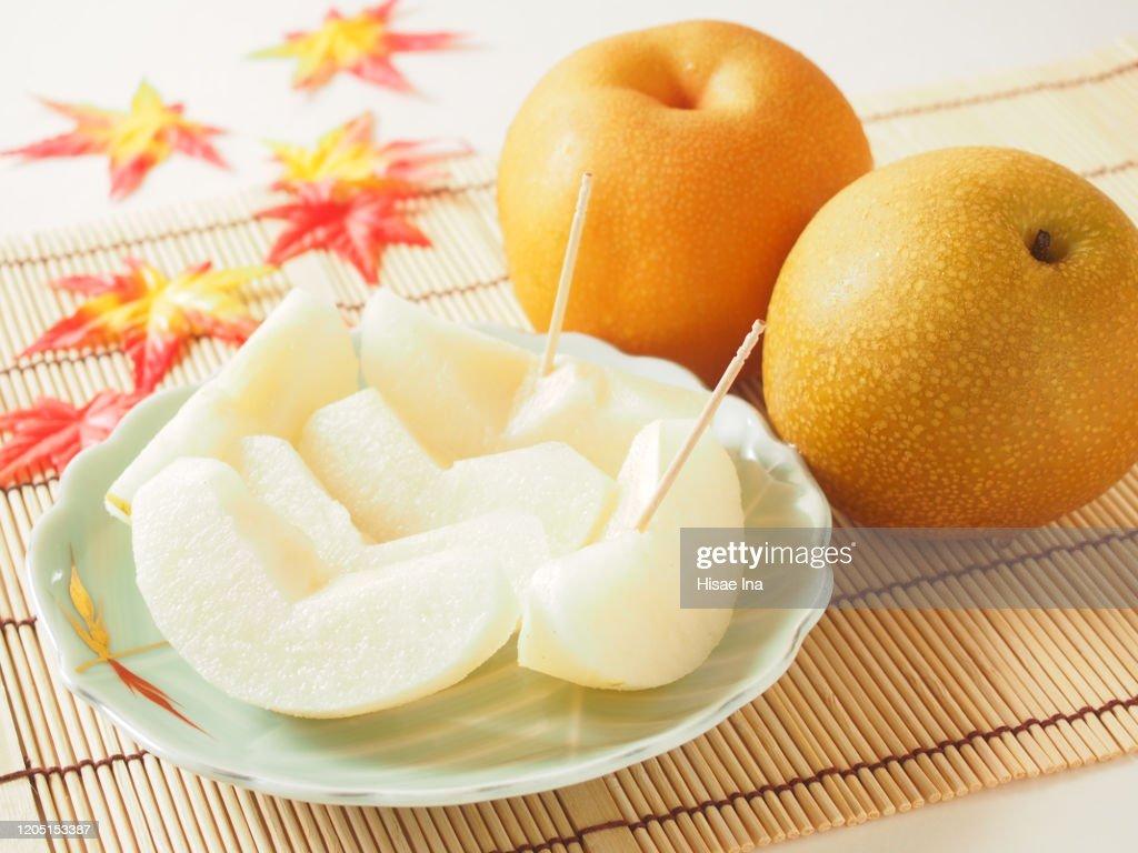 Japanese pear : Stock Photo