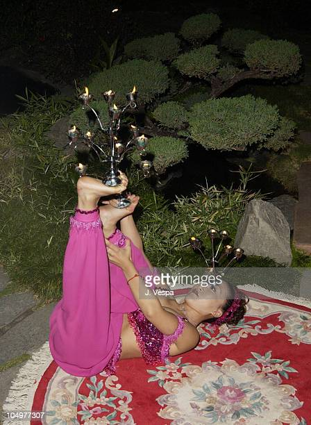 Japanese performers during Maxim Hot 100 Party Inside at Yamashiro in Hollywood California United States