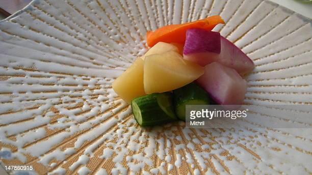 Japanese pickles for breakfast