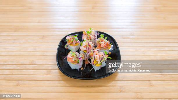 japanese plates - jcbonassin stock pictures, royalty-free photos & images