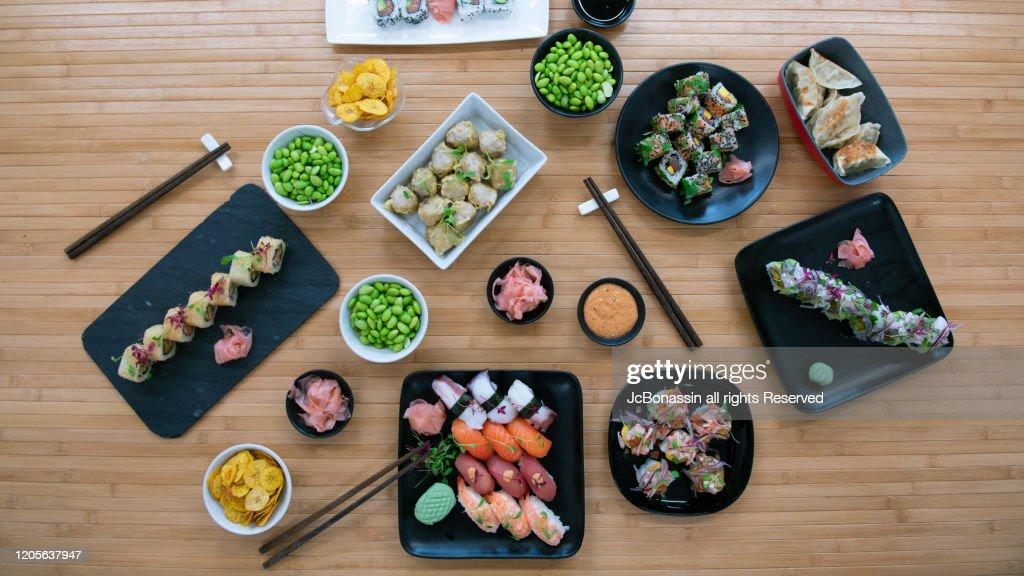 Japanese Plates : Stock Photo