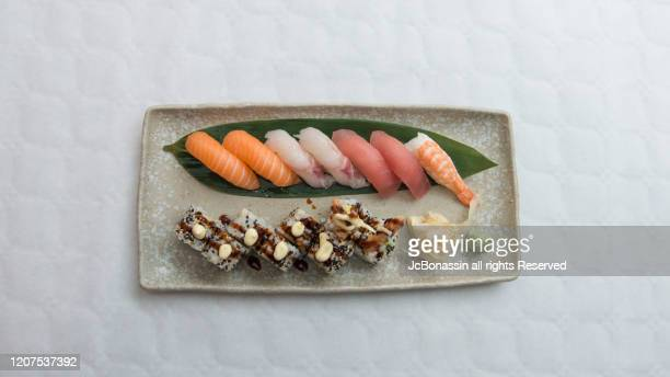 japanese plates - jc bonassin stock pictures, royalty-free photos & images