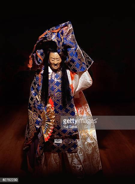 Japanese play ,Noh,Image of'Takasago'
