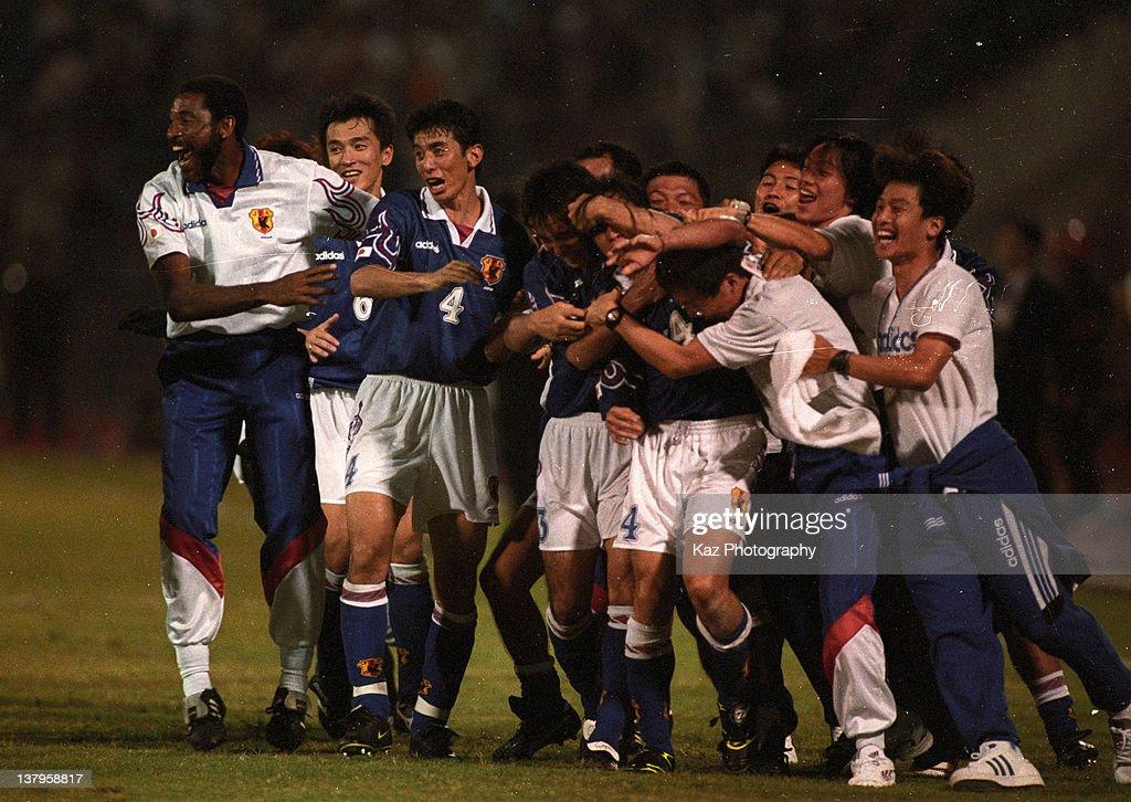 Japan v Iran - France World Cup Asian Play-Off : ニュース写真