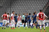 innsbruck austria japanese players celebrate their