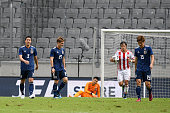 innsbruck austria japanese players show dejection