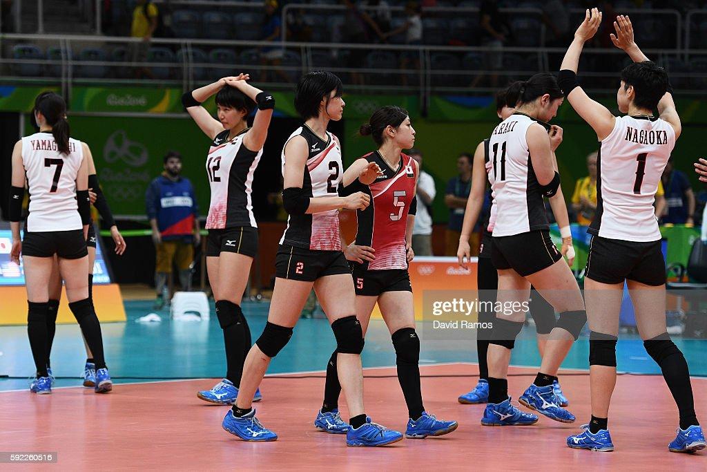 Volleyball - Olympics: Day 11 : Fotografía de noticias