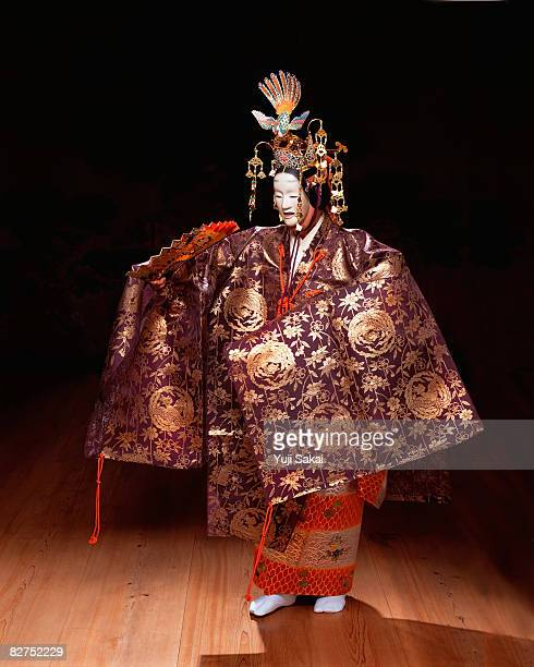 Japanese play,noh,Image of 'Hagoromo'