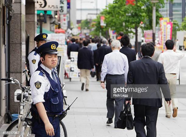 日本警察オフィサーズ - 警察 ストックフォトと画像