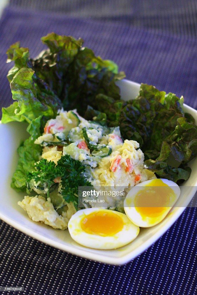 Japanese potato salad : ストックフォト