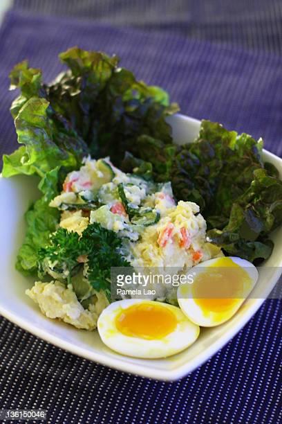 japanese potato salad - マーカム ストックフォトと画像