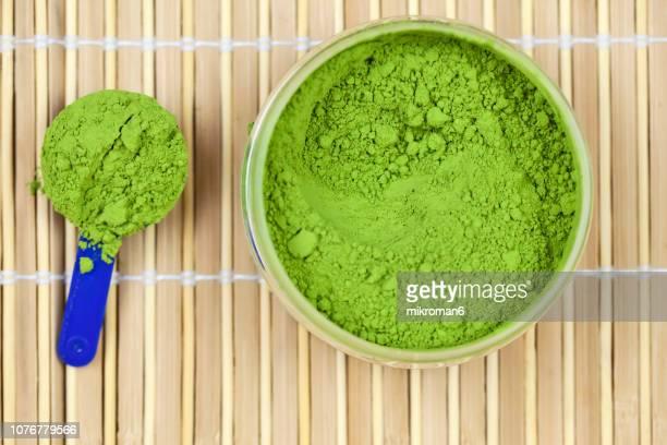 Japanese powdered green tea, matcha ceremonial grade
