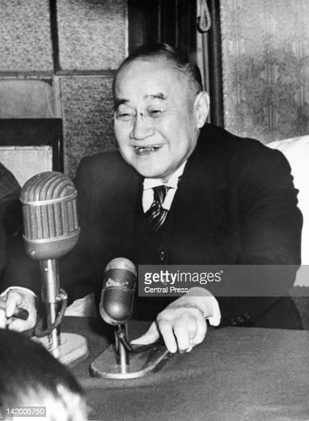 Japanese Prime Minister Shigeru Yoshida , 1954.