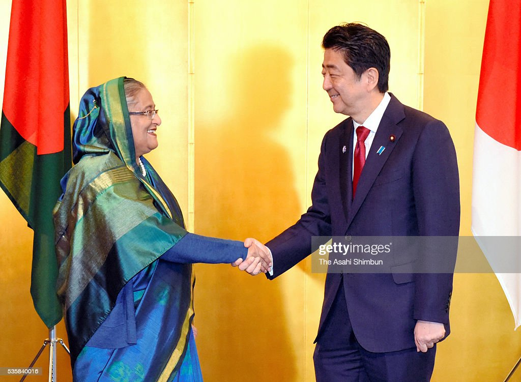 PM Abe Meets Asian And African Leaders : News Photo