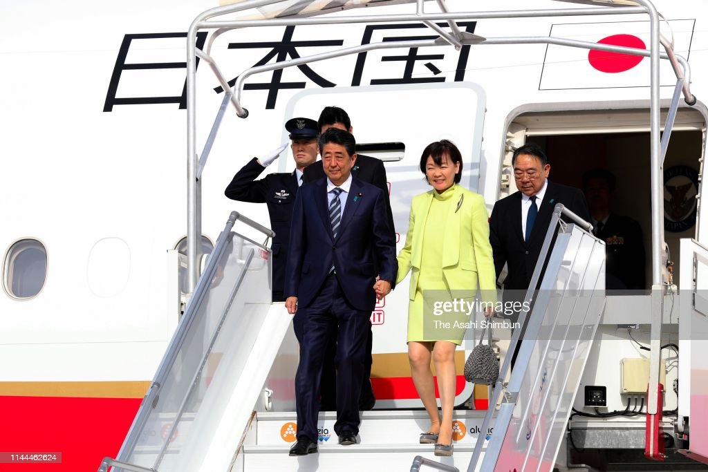 JPN: Japanese PM Abe Visits Europe And North America - Day 1