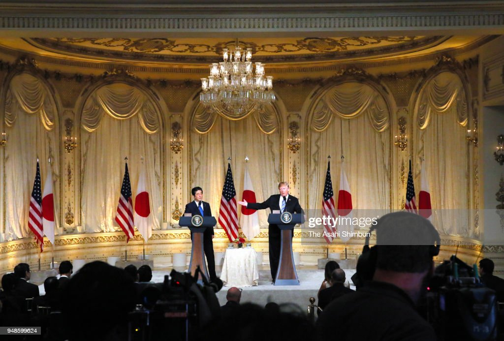 Japanese Prime Minister Shinzo Abe Visits US - Day 2