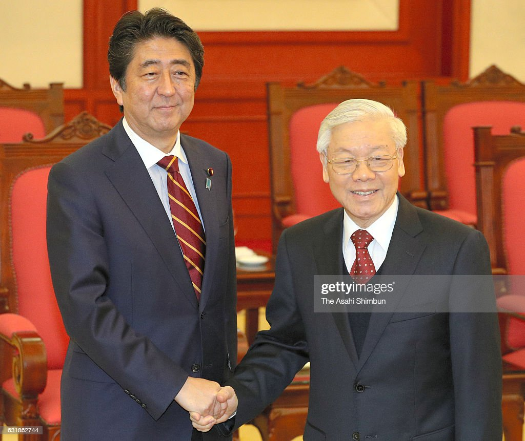 Japanese PM Abe Visits Southeast Asia And Australia - Day 5