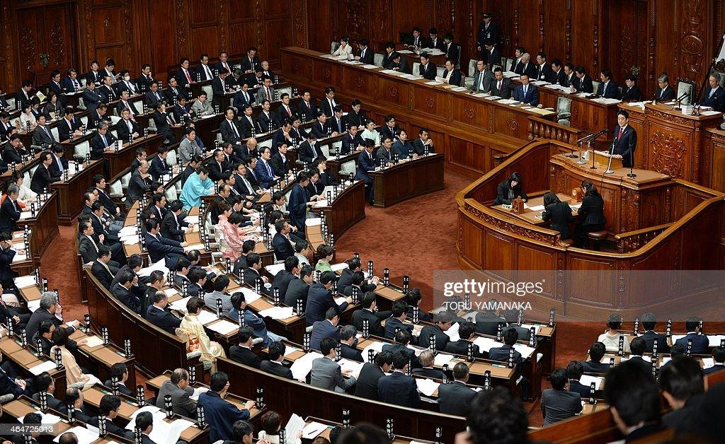 JAPAN-POLITICS : News Photo