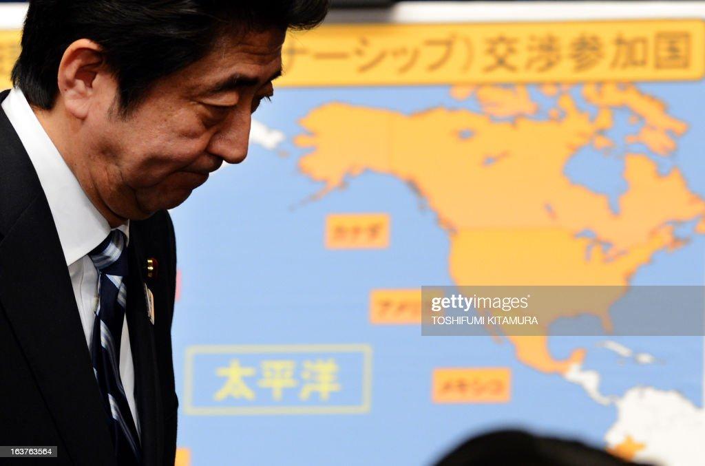 JAPAN-ECONOMY-TRADE-TPP : News Photo