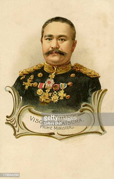 Japanese Prime Minister Taro Katsura who served as Prime Minister of Japan between 18961913 throughout the Menji period Katsura lead ground forces in...