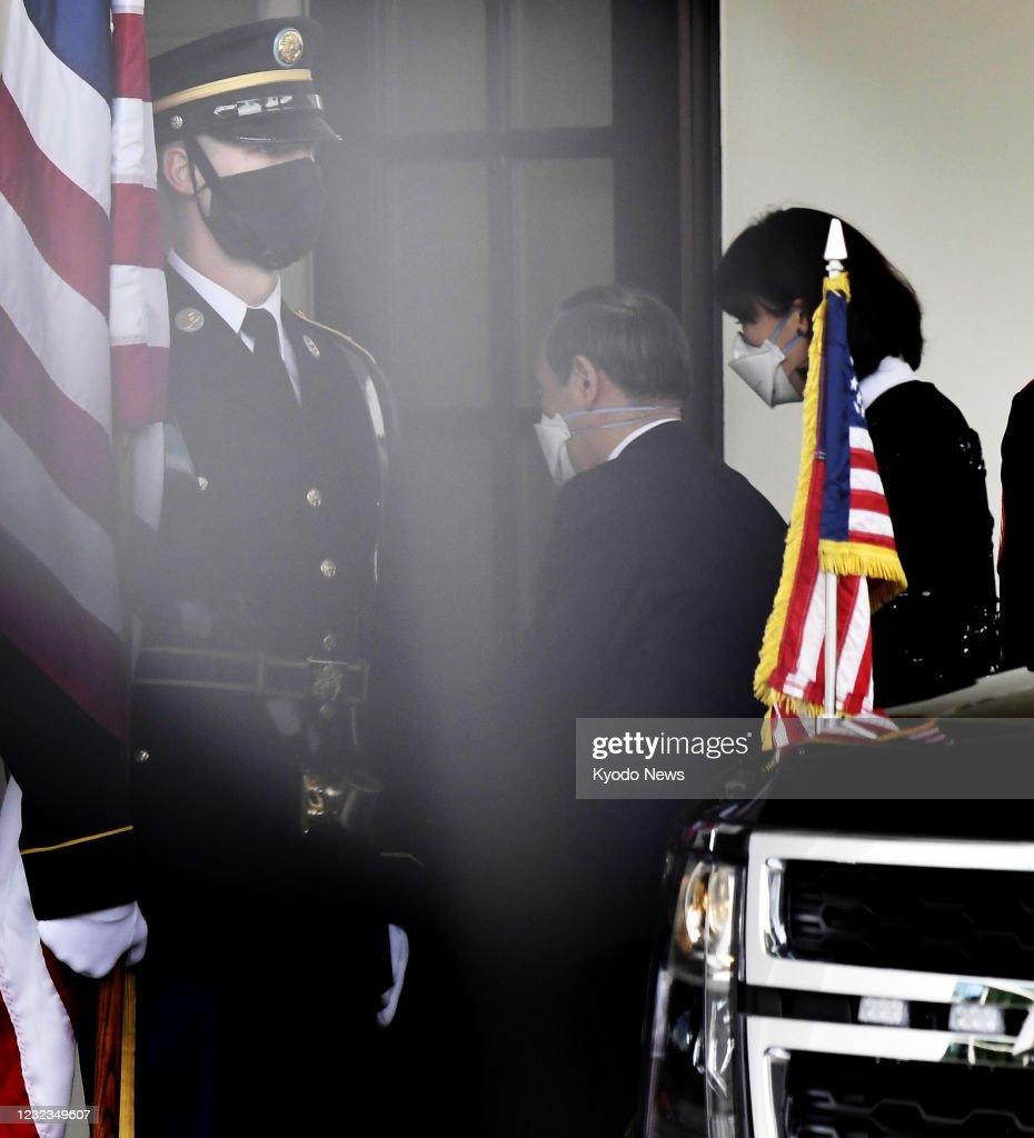 Suga-Biden meeting in Washington : News Photo
