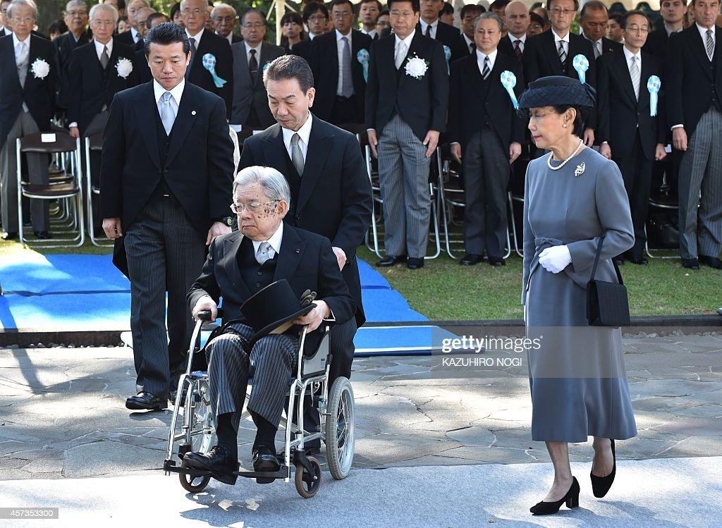 JAPAN-CHINA-SKOREA-DIPLOMACY-WWII-YASUKUNI : News Photo