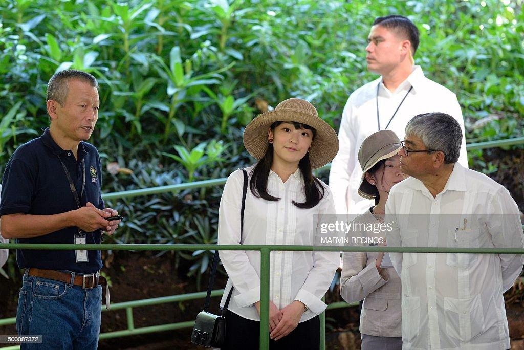 EL SALVADOR-JAPAN-PRINCESS MAKO : News Photo
