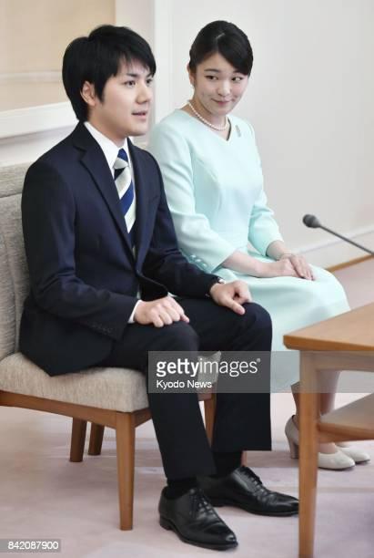 Japanese Princess Mako the eldest granddaughter of Emperor Akihito and Empress Michiko and her longtime boyfriend from university days Kei Komuro...