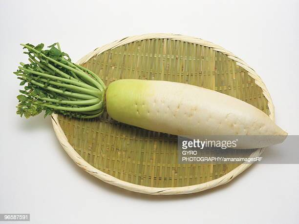 japanese radish - dikon radish stock photos and pictures