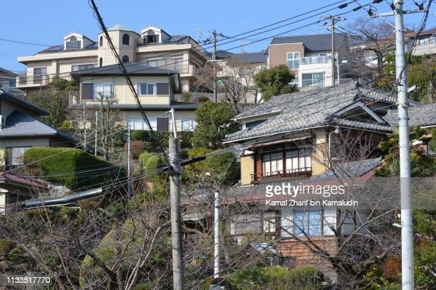 Japanese residential houses