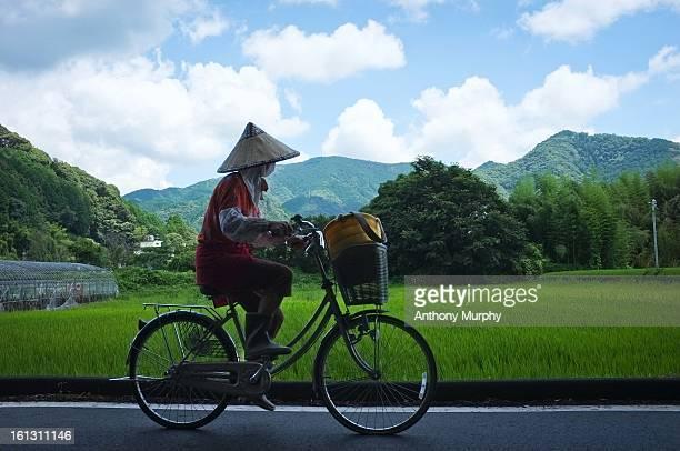 japanese rice farmer - 中部地方 ストックフォトと画像