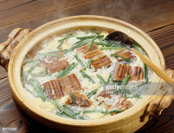 Japanese risotto with eel