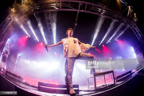 Japanese rock band One OK Rock performs live at Fabrique in Milano, Italy, on May 23 2019