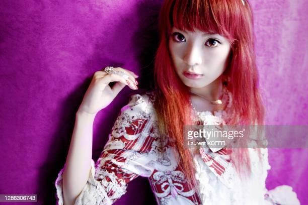 Japanese Rock Singer Nana Kitade pictured on July 6, 2007 in Paris in France.