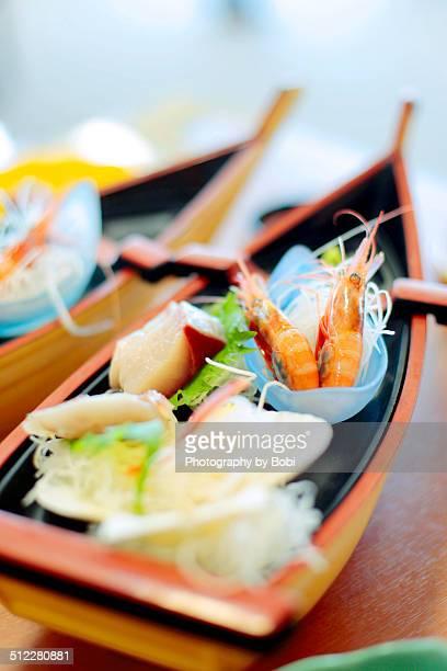 Japanese sashimi seafood cuisine