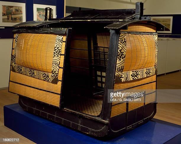 Japanese sedan from Dejima in Nagasaki Bay recovered in 1826 by Franz von Siebold