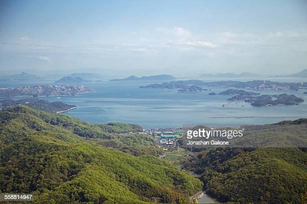japanese seto inland sea - kagawa ストックフォトと画像