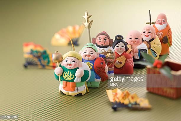 Japanese seven deities of luck