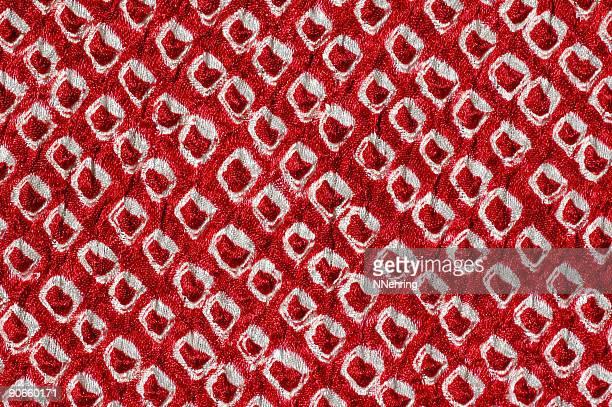 日本のシボリ染めのファブリック - 染料 ストックフォトと画像