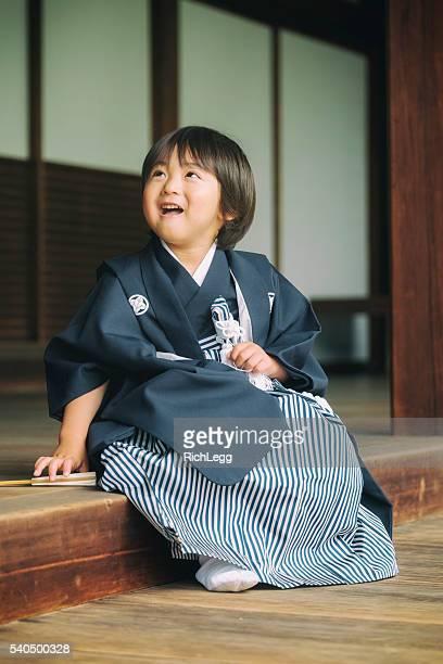 日本の子供 七五三 セレモニー