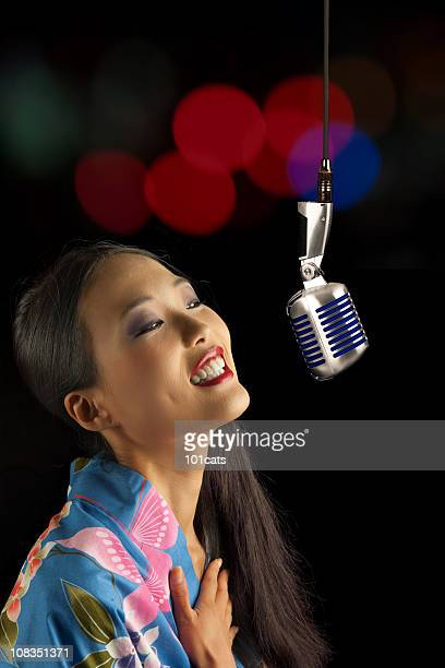 japanese singer - entertainment occupation stock pictures, royalty-free photos & images