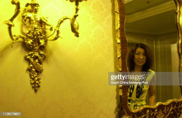 """Japanese singer Yumi Matsutoya, or """"Yuming"""", pictured at the Ritz Carlton Hotel, Central. 02 August 2003."""