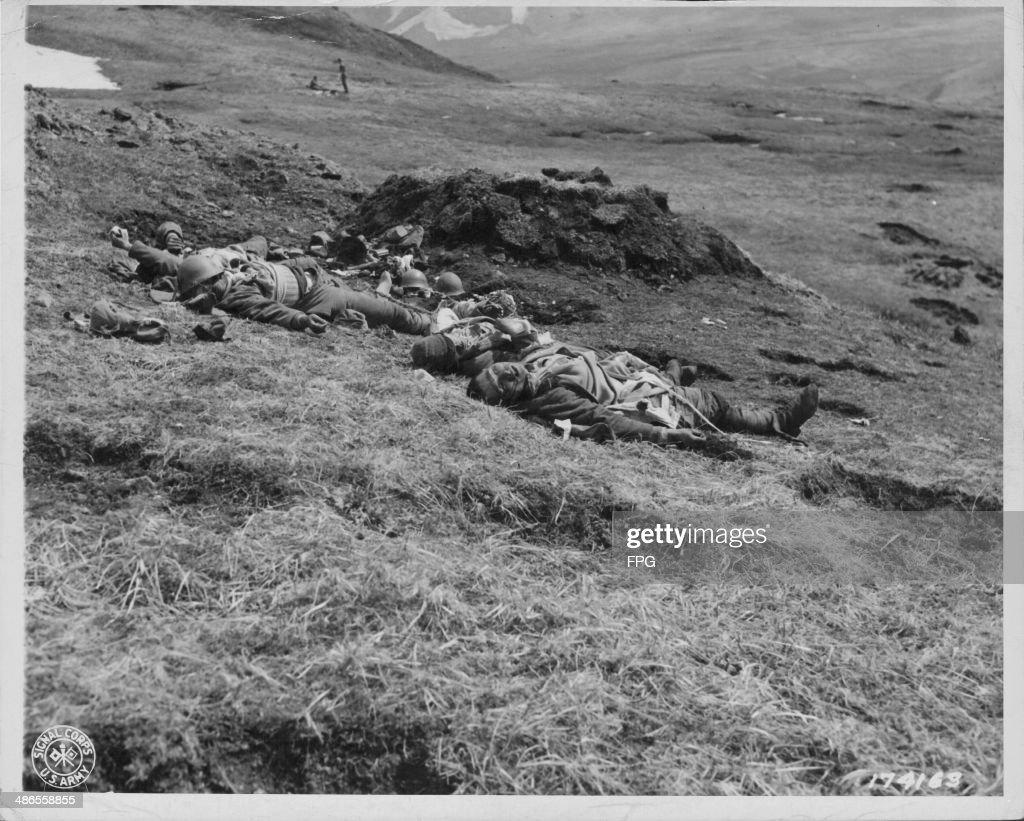 Casualties Of War : News Photo
