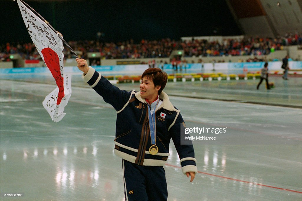 Olympic Athlete Carries His Country's Flag : ニュース写真