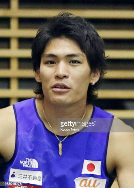 Japanese sport climber Tomoa Narasaki seen in this undated file photo won the men's combined final at the world championships in Hachioji western...