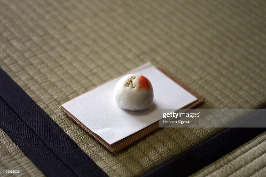 Japanese Steamed Cake : ストックフォト