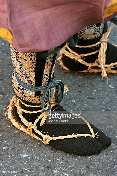 Japanese Straw Sandals Every year the Yabusame or Horseback Archery is held along the Shonan Coast of Japan in Kamakura and Zushi Prior to the...